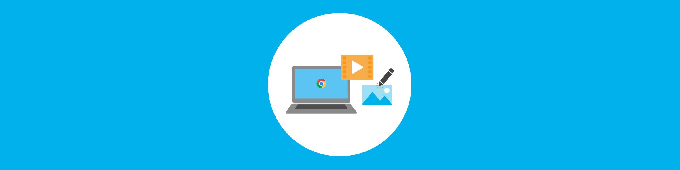 Creatief met Chromebooks - Cloudwise Academy header trainingsaanbod