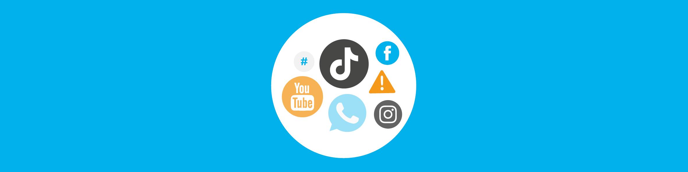 Social media - Cloudwise Academy header trainingsaanbod